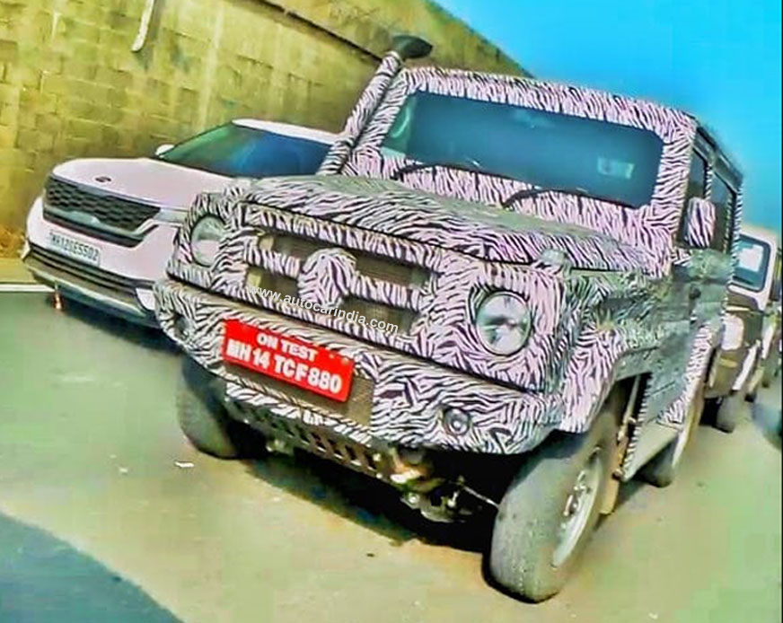 Next-gen Force Gurkha likely to debut at Auto Expo 2020