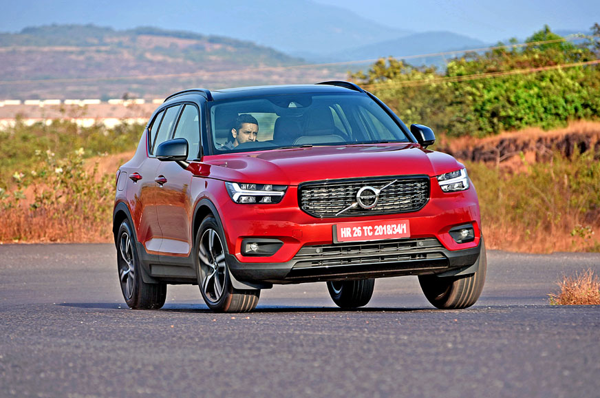Volvo XC40 T4 petrol review, test drive