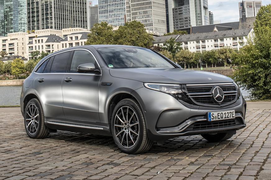 Mercedes-Benz EQC India launch in April 2020