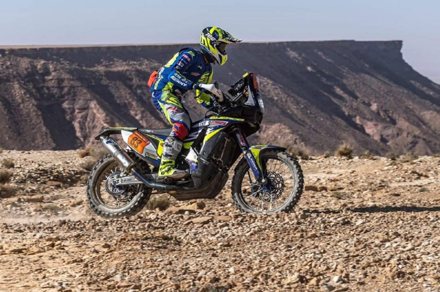Dakar 2020: Stage 9: TVS endures a tough day