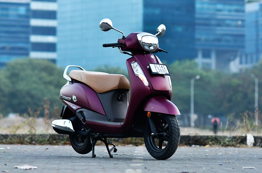 Suzuki scooter sales continue to shine in April-December 2019