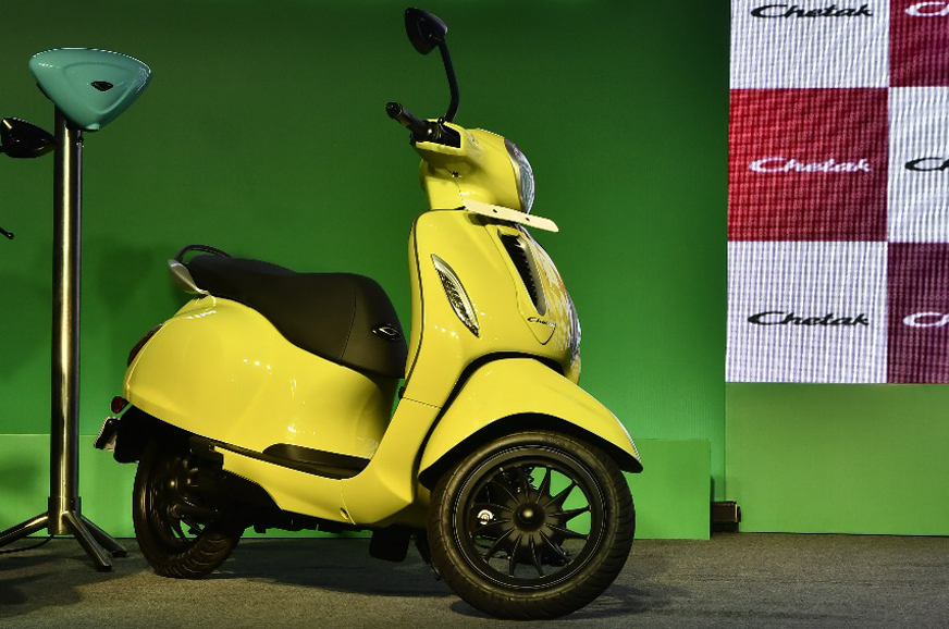 Bajaj Chetak e-scooter launched at Rs 1 lakh