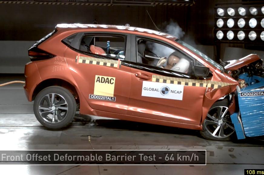 Tata Altroz secures five-star rating in Global NCAP crash tests