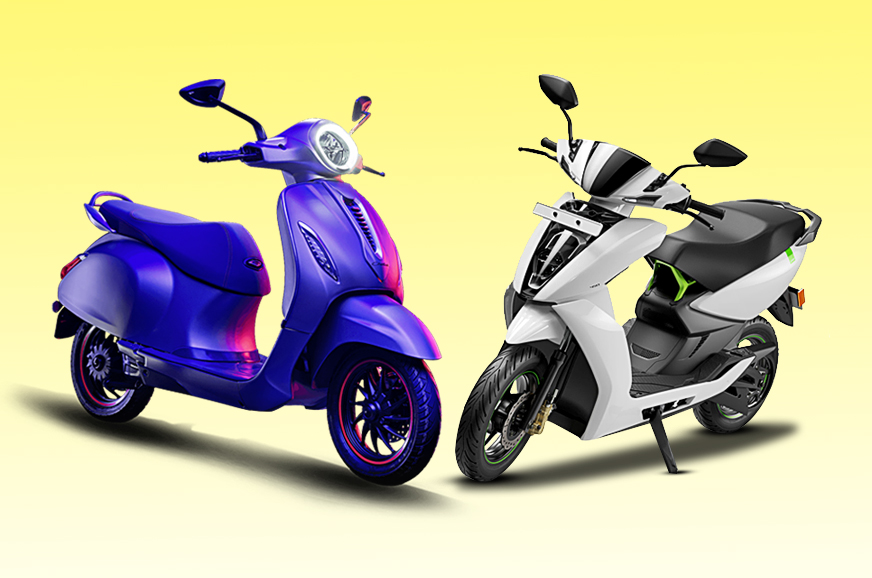 Bajaj Chetak vs Ather 450: Specifications comparison