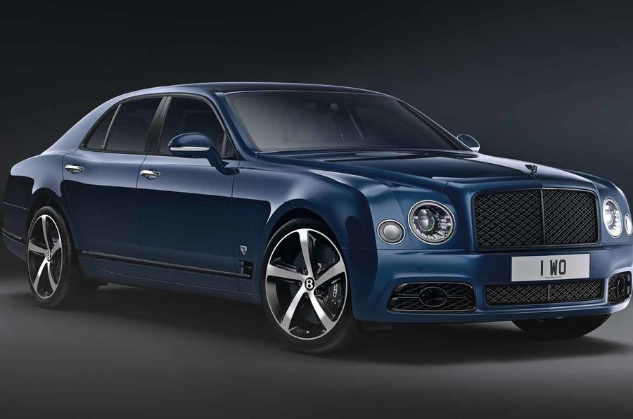 Bentley Mulsanne 6.75 Edition revealed