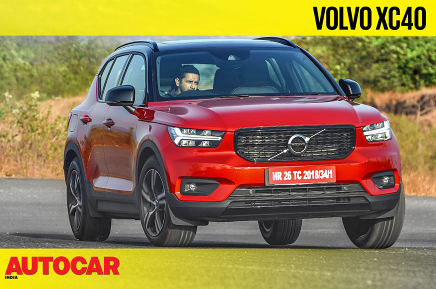 Volvo XC40 T4 petrol video review