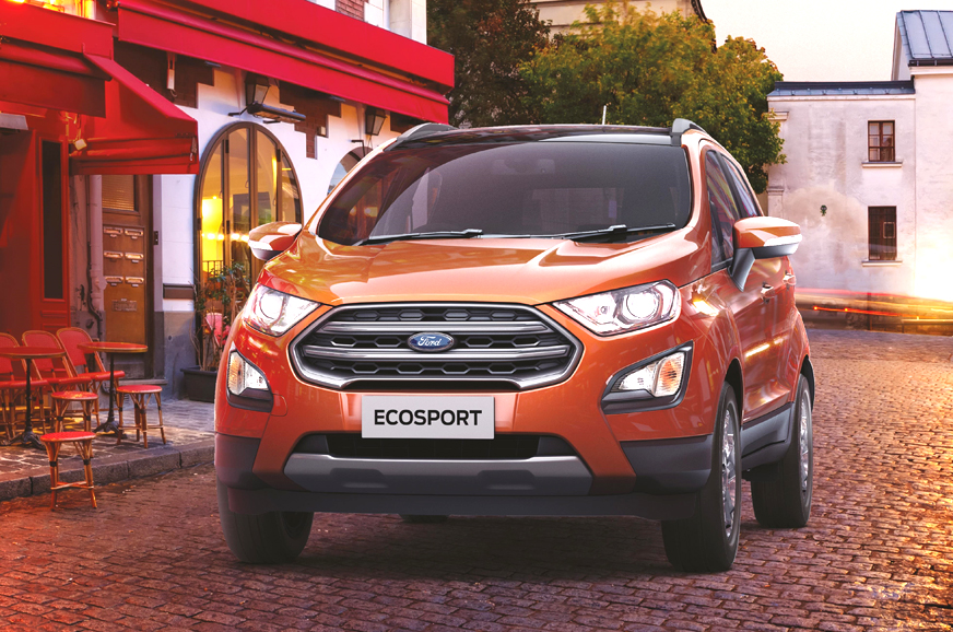 BS6 Ford EcoSport launched at Rs 8.04 lakh