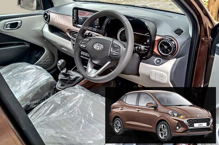 Hyundai Aura interior details surface before launch