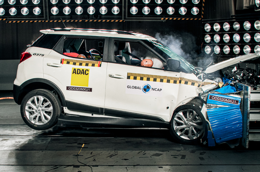 Mahindra XUV300 scores five stars in Global NCAP crash tests