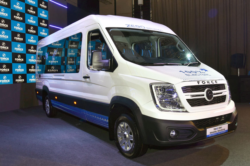 Force Motors reveals all-new electric van