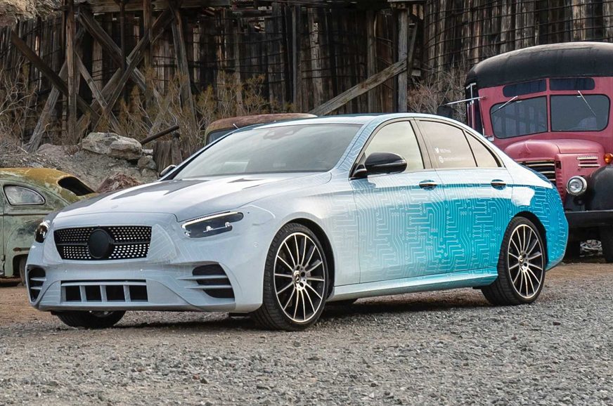 Mercedes-Benz E-class facelift teased ahead of unveil