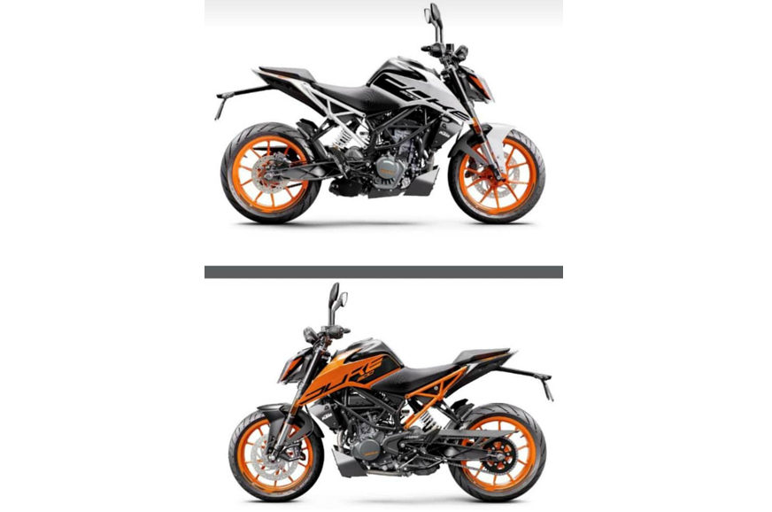BS6 KTM 200 Duke to share design with the 250 Duke