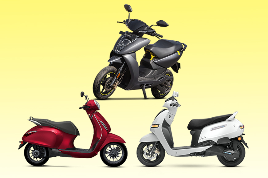 Ather 450X vs rivals: Range, battery, specifications comparison