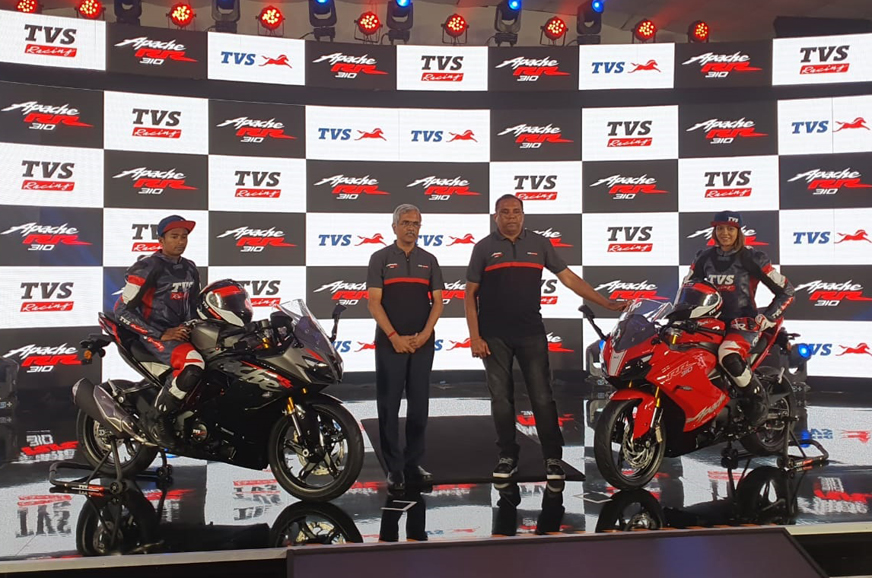 TVS Apache RR 310 BS6 launched at Rs 2.4 lakh