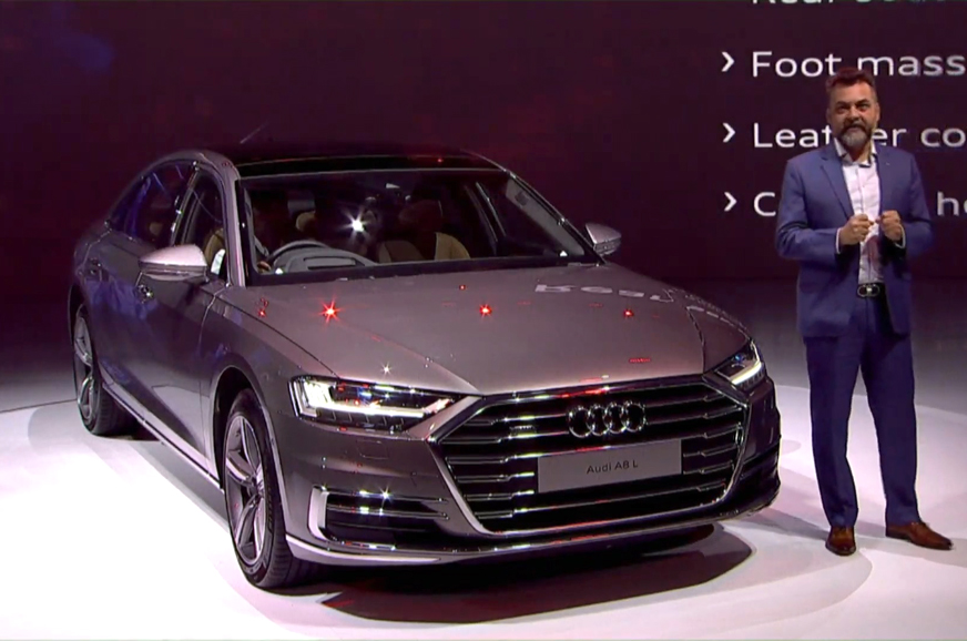 New Audi A8 L launched at Rs 1.56 crore
