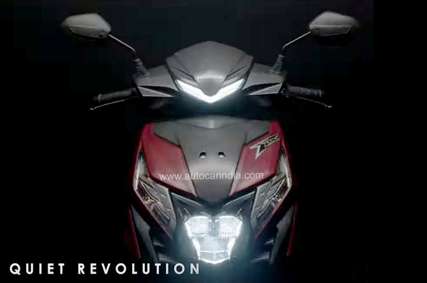 2020 BS6 Honda Dio teased with refreshed styling