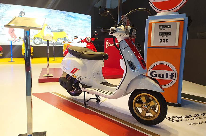 BS6 Vespa Racing Sixties to launch next month