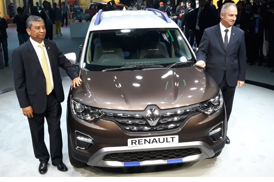 Renault Triber AMT launch in Q2 2020