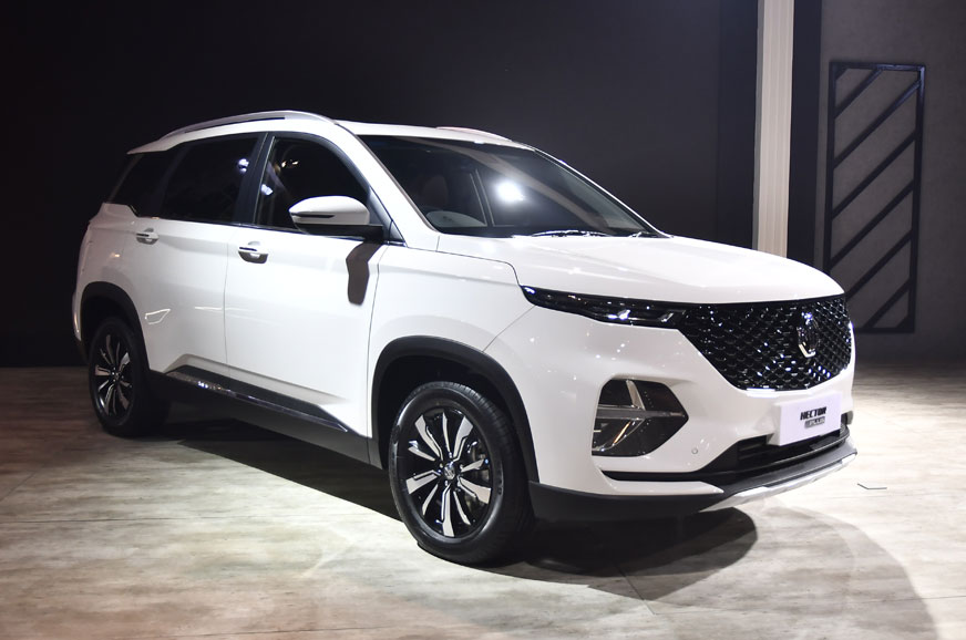 MG's Hector Plus is a three-row version of the five-seat SUV