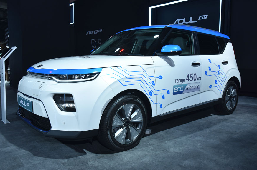 Kia highlights EV capabilities at Auto Expo 2020 with Soul EV, e-Niro