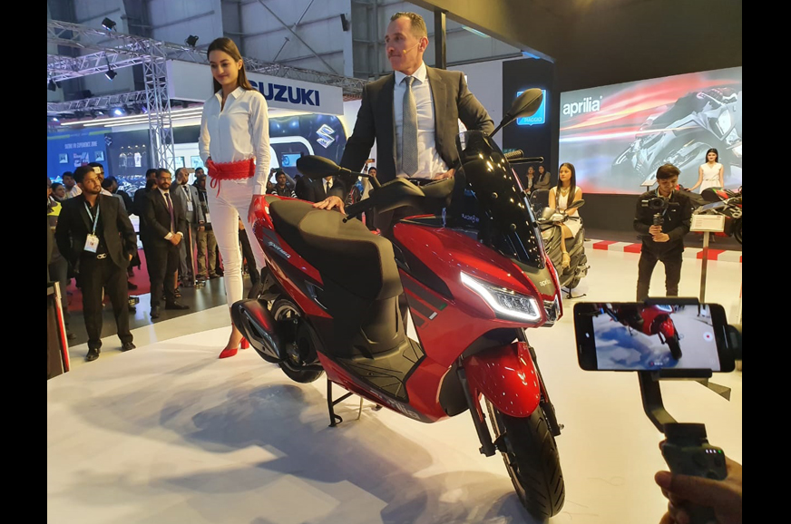 New Aprilia SXR125, SXR160 to be launched in September 2020