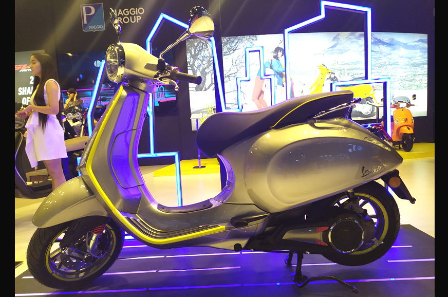 Piaggio evaluating an EV for our market