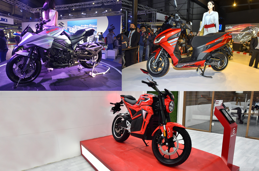 Top 3 two-wheelers at Auto Expo 2020