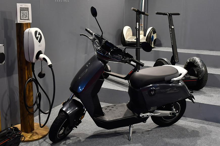 Bird Electric ES1+ showcased at Auto Expo 2020