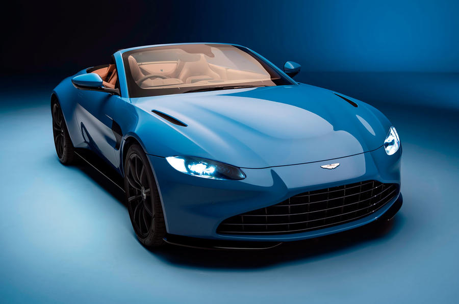 New Aston Martin Vantage Roadster sports fastest-folding roof