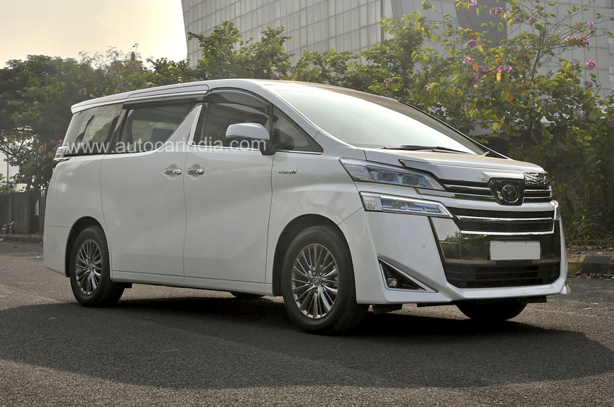 Toyota Vellfire India launch on February 26