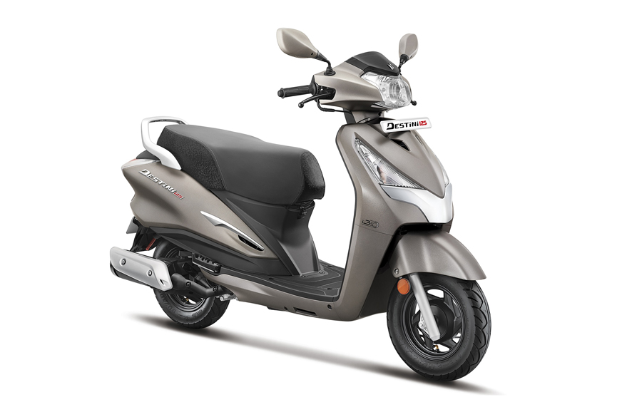 BS6 Hero Destini 125 launched at Rs 64,310