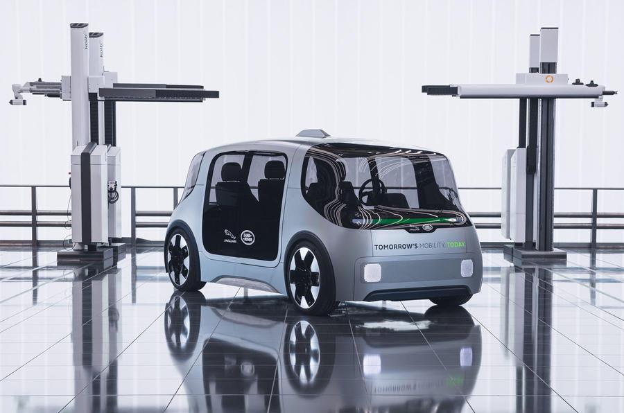 JLR debuts Project Vector autonomous EV