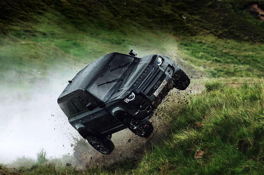 New Land Rover Defender performs extreme stunts in James Bond movie