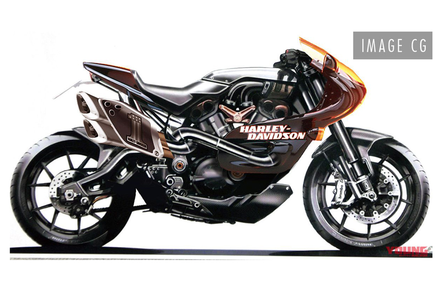 New faired Harley-Davidson render surfaces