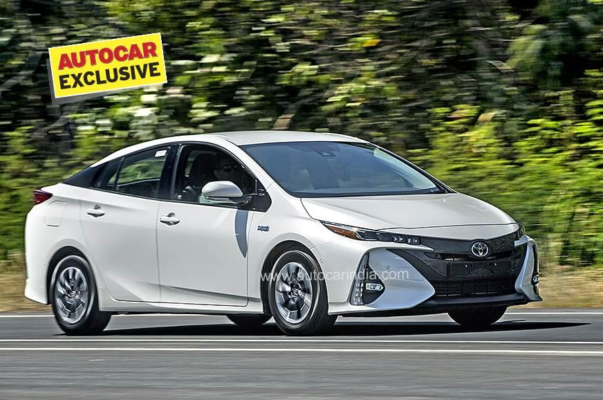 2020 toyota prius plug-in hybrid electric vehicle india