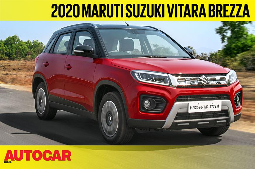 2020 Maruti Suzuki Vitara Brezza BS6 petrol video review