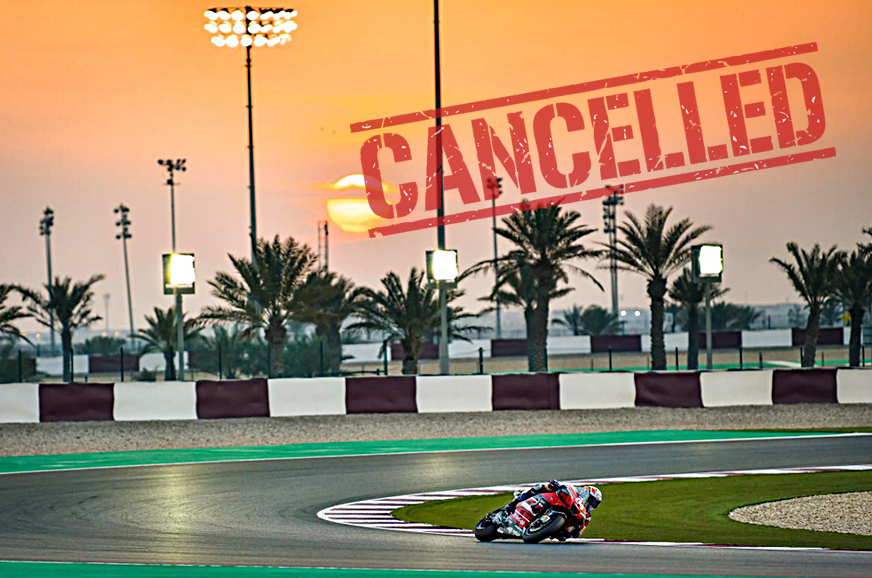Qatar MotoGP race cancelled due to Coronavirus travel restrictions; Thai GP postponed