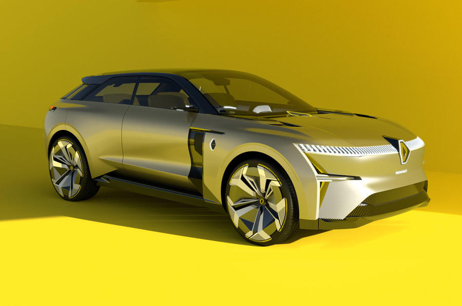 Renault Morphoz electric SUV concept revealed
