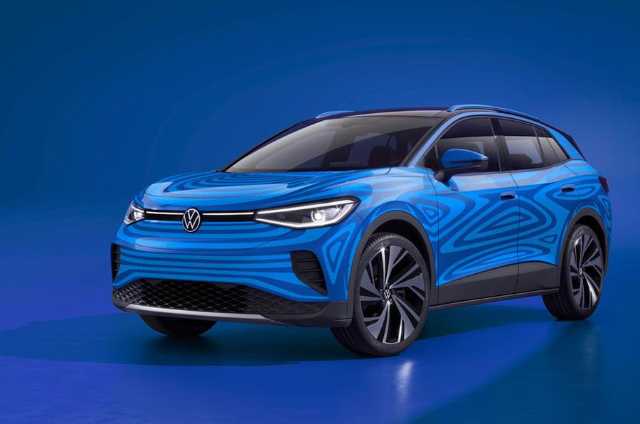 Volkswagen I.D. 4 electric SUV revealed