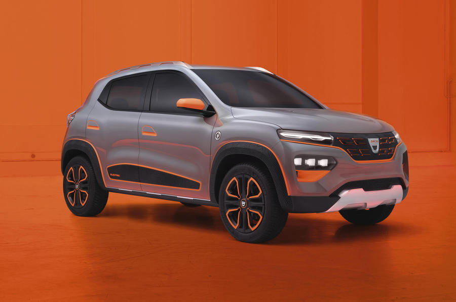Renault Kwid-based Dacia Spring concept revealed