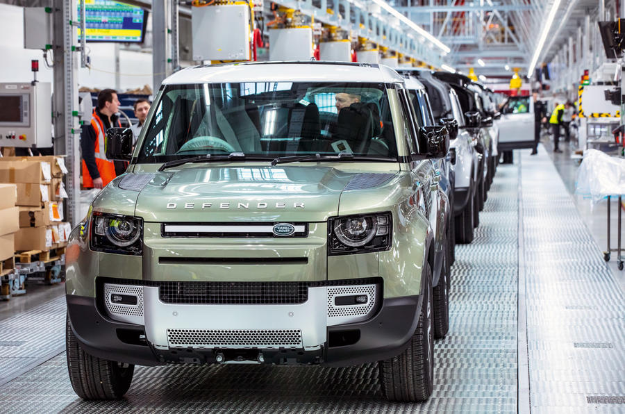 The story behind the new Land Rover Defender's production