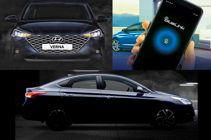 2020 Hyundai Verna facelift to get Advanced Blue Link connected car tech