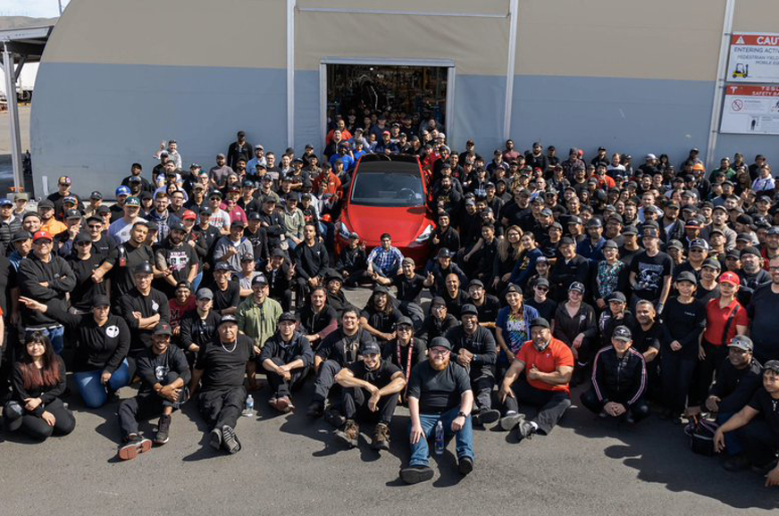 Tesla produces one millionth car