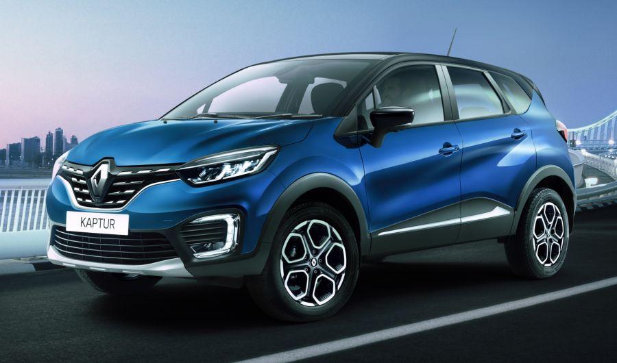 Renault Captur facelift revealed