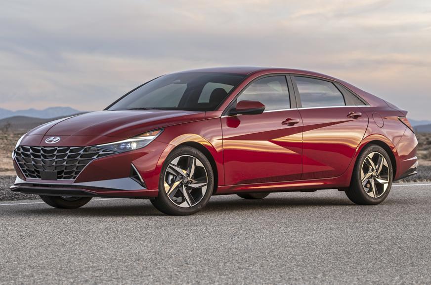 2021 Hyundai Elantra Debuts With Bold New Design Automobile Updates Cars Bikes Reviews
