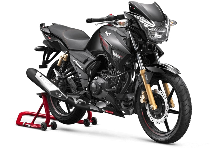 BS6 TVS Apache RTR 180 launched at Rs 1.01 lakh