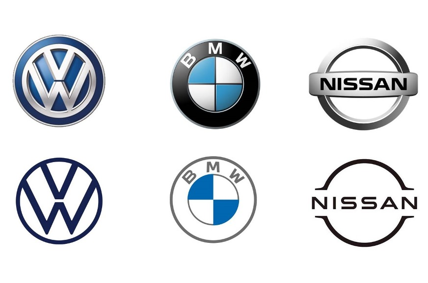 Why is logo design going flat? - Blog Entry - Autocar India