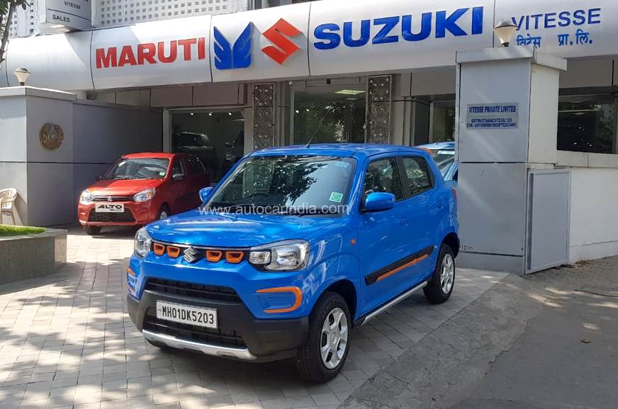 Maruti Suzuki domestic sales down 47.4 percent in March 2020