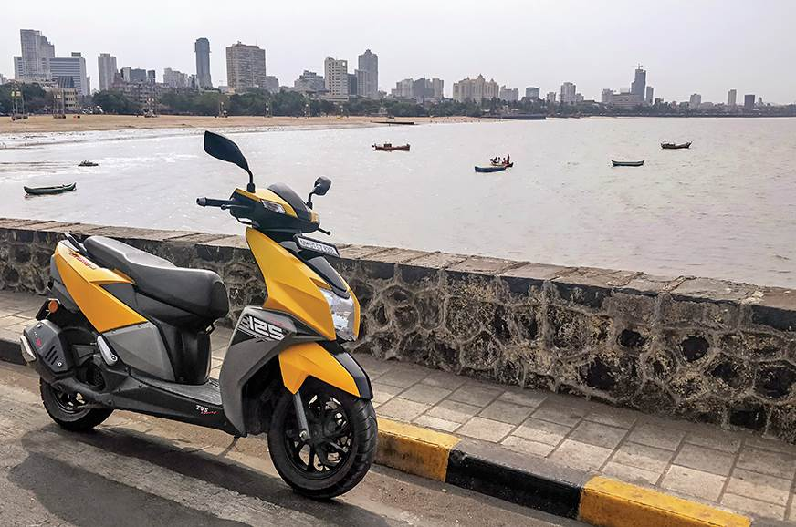 TVS bike and scooter sales see a major dip in March 2020