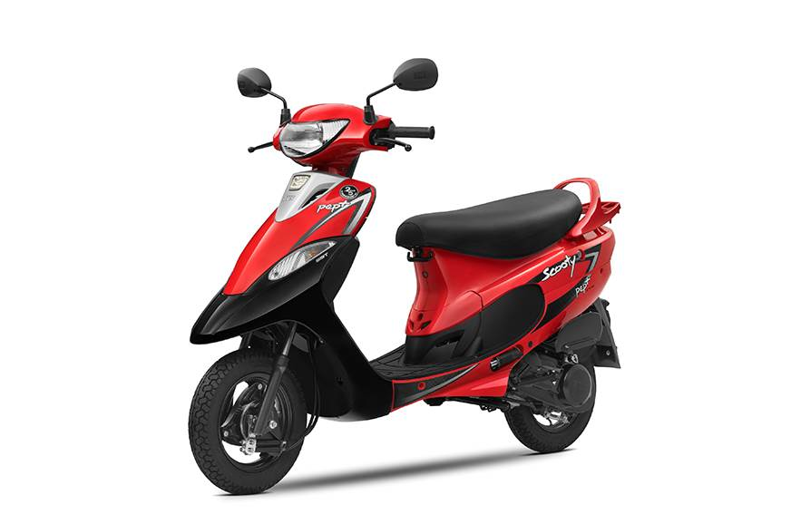 BS6 TVS Scooty Pep Plus priced from Rs 51,754